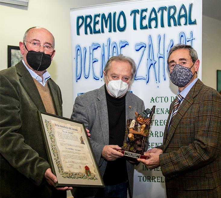 Manuel Galiana recibe el Premio Duende Zahorí 2021