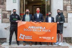El BM Torrelavega y AMAT se unen para luchar contra las apuestas deportivas