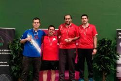 El Bádminton Olimpia logra un oro y un bronce en el Circuito Nacional Senior de Vitoria