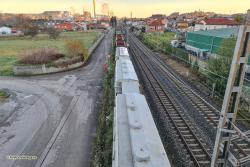 Renfe retirará los vagones estacionados en Barreda si se considera necesario por seguridad de los vecinos