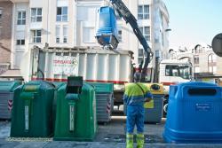 Los contenedores de recogida de residuos 'avisarán' cuando estén llenos y necesitan ser vaciados