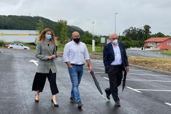 Quiñones destaca la colaboración institucional para impulsar proyectos como el aparcamiento de Molladar