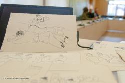 El Ayuntamiento adquiere 99 dibujos a plumilla y dos grabados de José Luis Hidalgo