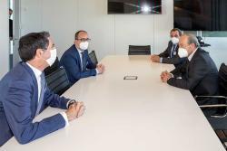 Industria apoyará a la Cámara con 215.000 euros en convenios y una subvención nominativa