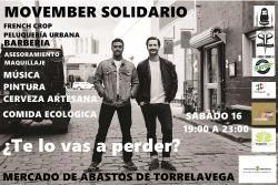 Movember Solidario el 16 de noviembre en la Plaza de Abastos