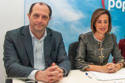 La portavoz del PP aparta  a Fernández Berjano y le retira liberación y sueldo