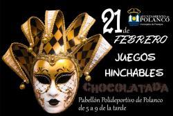 Talleres y disco móvil infantil en el Carnaval de Polanco