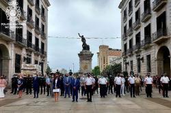 La Jefatura Superior de Policía de Cantabria presenta a los 39 policías que completarán su formación en Santander y Torrelavega