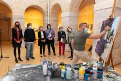 Inaugurada la exposición de Albert Sesma en el Centro de Arte Contemporáneo de Reocín