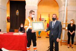 Medalla de Oro del Ayuntamiento de Reocín a la Agrupación de Voluntarios de Protección Civil