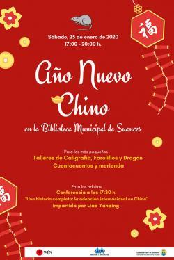 Celebración del Año Nuevo Chino en la Biblioteca de Suances