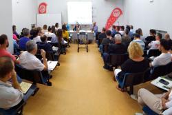 UGT inicia en Torrelavega sus actos reivindicativos del Día Mundial por el Clima del próximo 27 de septiembre