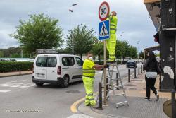 """Torrelavega prioriza los peatones frente a los vehículos y apuesta por la velocidad limitada para """"calmar el tráfico"""""""